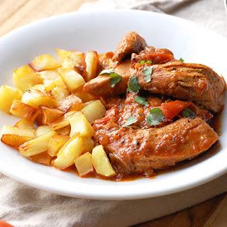 Comforting Paleo Chicken Paprikash