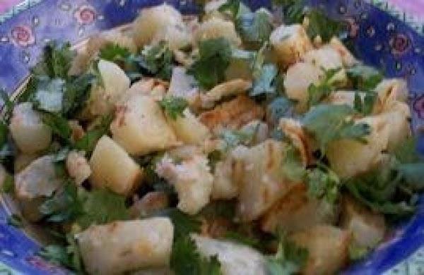Warm Tunisian Potato Salad Recipe