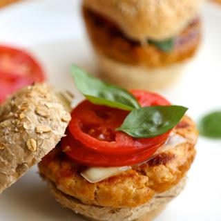 Healthy Chicken Burgers.