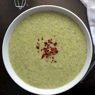 Comforting Creamy Broccoli Soup.