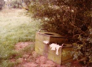 Photo: 1980: In der Einsamkeit der Emslandschaft gefunden...
