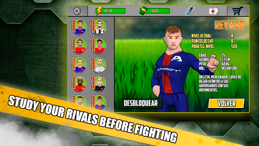 Free soccer game 2018 - Fight of heroes 1.6 screenshots 19