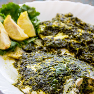 Patrani Machhi | Steamed Fish in Foil.