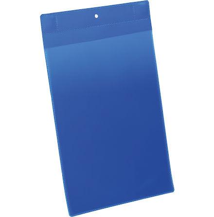 Plastficka Plus A4S magnet blå