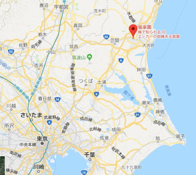 地図:偕楽園