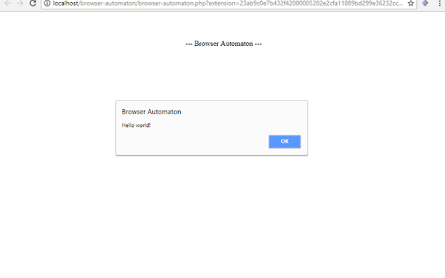 Browser Automaton