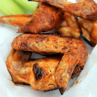 Spicy Honey Grilled Chicken Wing.