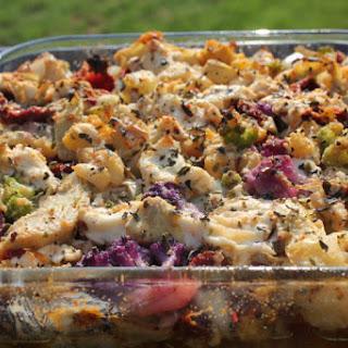 Creamy Italian Cauliflower Casserole – Gluten Free, Low Carb.