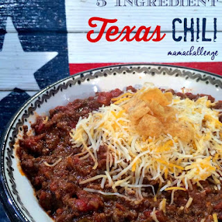 5 Ingredient Texas Chili