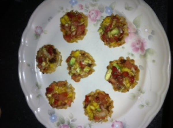 Chili & Cheese Cups With A Salty Sweet Salsa Recipe