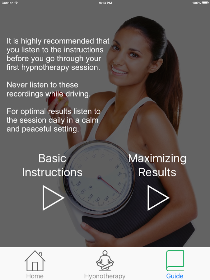 Cyrus Weightloss Hypnotherapy- screenshot