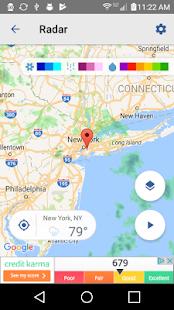 Local Weather Radar & Forecast - náhled