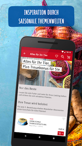 REWE - Online Shop & Märkte screenshot 4