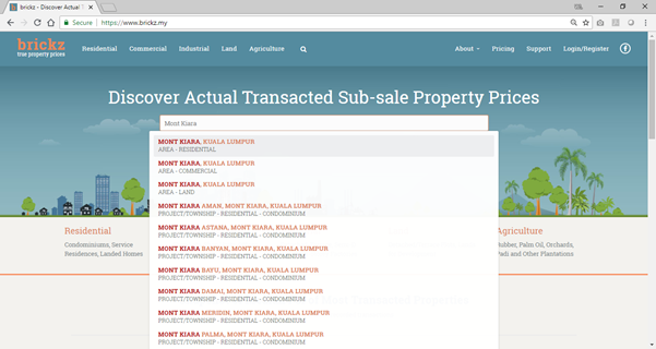 how to search for the name of an area - development name search, property investment in malaysia, there are 10 ways