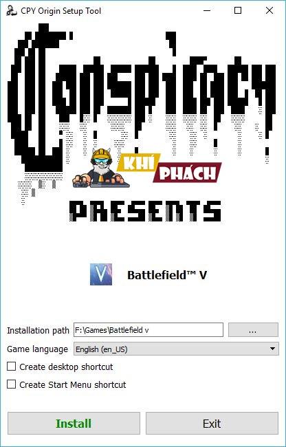 Hướng dẫn cài đặt Battlefield 5 Full cho PC