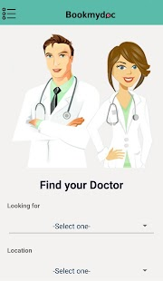 Bookmydoc- screenshot thumbnail