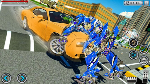 Tiger Robot Transforming Games : Robot Car Games 1.0.9 screenshots 2