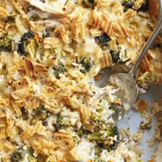 Baked Broccoli and Chicken Casserole.