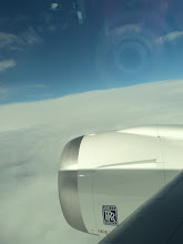 Photo: See the Rolls Royce logo on the engine? So cool. 787.