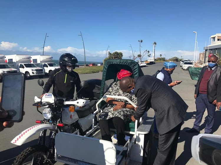 The Eastern Cape health department may not further implement the R10m contract for modified motorbikes to transport patients in rural areas.
