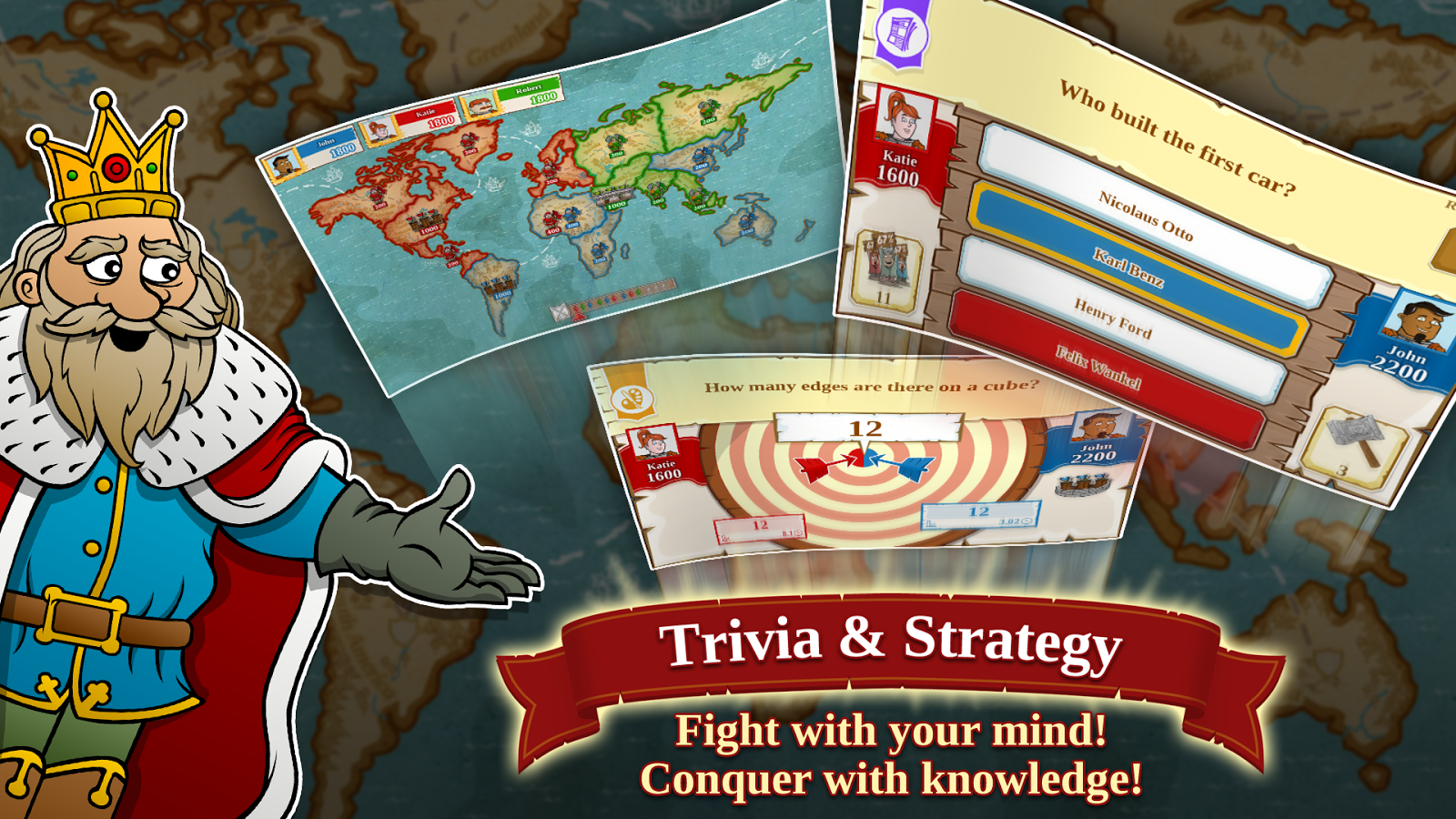 Triviador World- screenshot