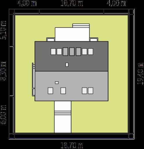 E1 wersja A MULTI-COMFORT - Sytuacja