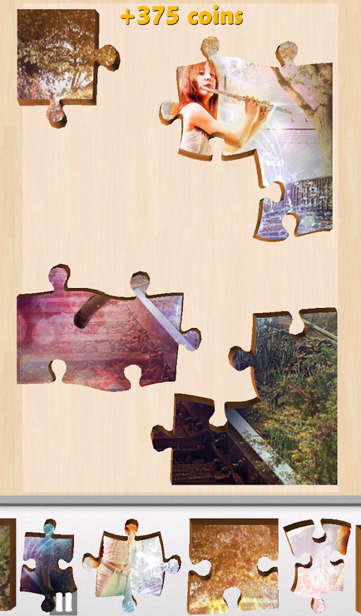 Live Jigsaws Symphony Light- screenshot