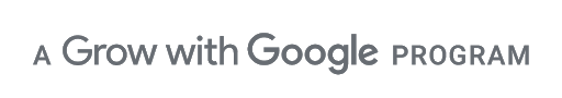 A Grow with Google Program logo
