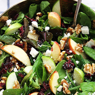 Salad With Walnuts And Dried Cranberries Recipes