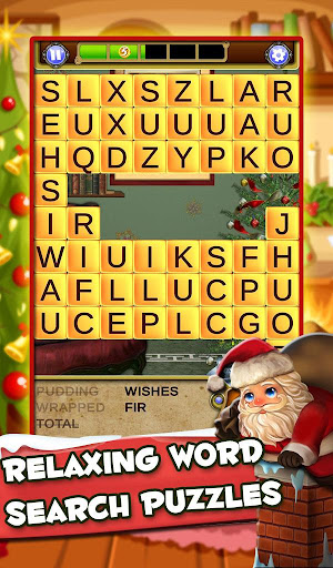 Xmas Word Search: Christmas Cookies - screenshot