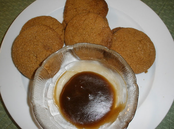 Molasses Cookies With Molasses Frosting Recipe