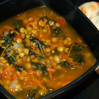 Spicy Lentil and Kale Soup