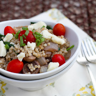 Vegetarian Greek Israeli Couscous
