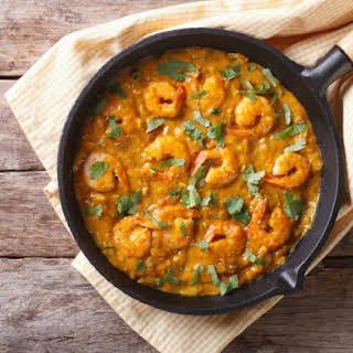 Bhagari Jhinga (Indian Shrimp Curry).