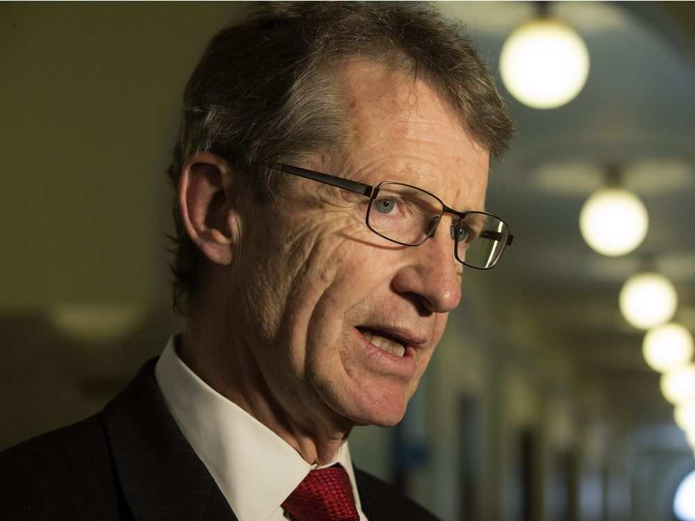 Alberta Liberal leader David Swann