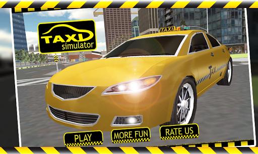 3D Taxi Driver Simulator