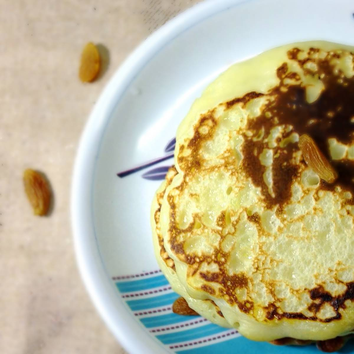 Cheese potato pancakes, A  viewpoint in your boring breakfast