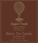Sugar Creek Biére De Garde