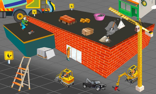School Building Construction Site: Builder Game modavailable screenshots 12