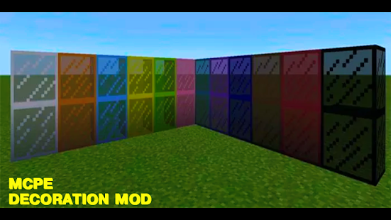 Decoration Mod For MCPE - náhled