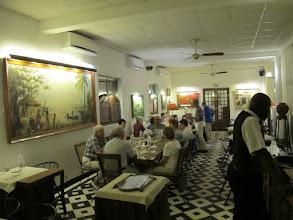 Photo: Sn4HR0320-160203StLouis, hôtel 'La Résidence', dîner, salle à manger IMG_0318