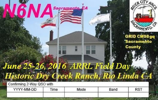 2016 River City ARCS Field Day