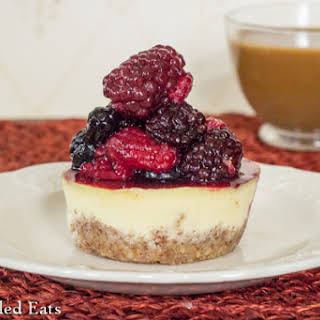 Almond Crusted Breakfast Cheesecake.