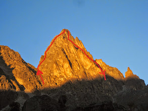 Photo: Point Peter morning alpenglow