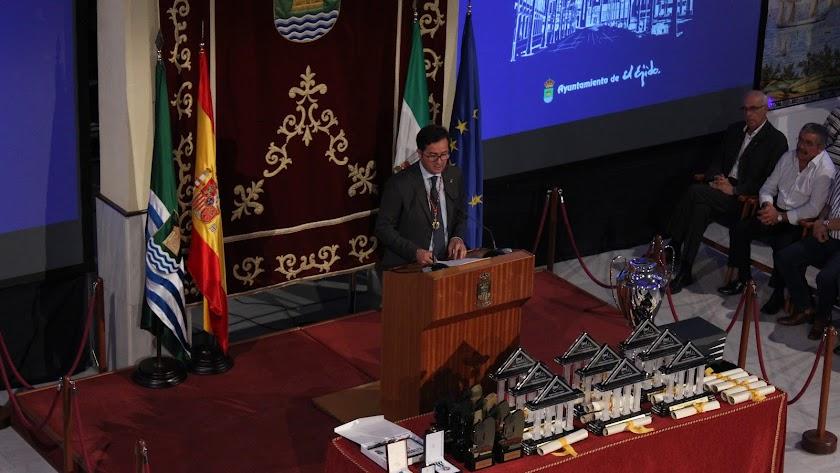 Francisco Góngora, alcalde de El Ejido (archivo).