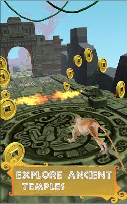 Monkey Temple Run - screenshot