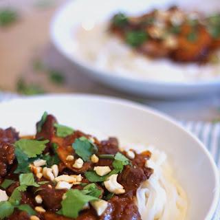 Thai-ish Beef Stroganoff