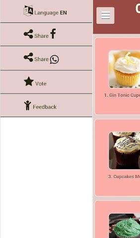 android Cupcakes Recipes Screenshot 4
