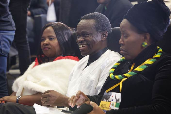 Kenyan intellectual Professor Patrick Lumumba at the Nelson Mandela memorial lecture at the Walter Sisulu University's Mthath campus on July 17 2018