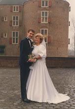 Photo: Hans en Cora Verhoeven de With 16-12-1988